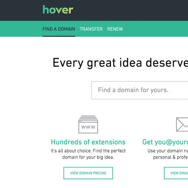 Pointing Hover Domain to Your Heroku App | Brendan Quinn